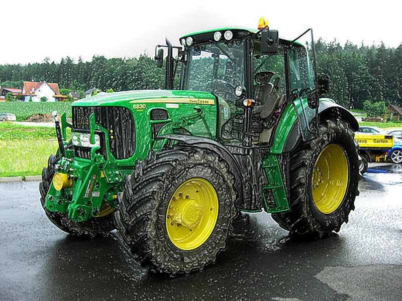 Chiptuning Tractor for better fuel economy